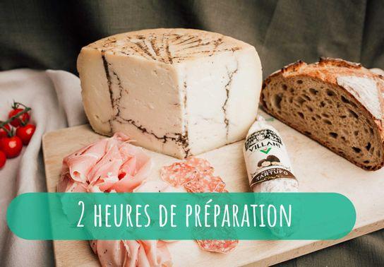 Plateau charcuterie & fromages - repas 6-8 personnes