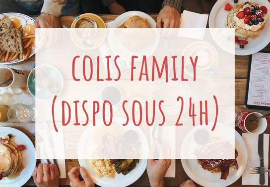 Colis Family - Commandez 24 h à l'avance