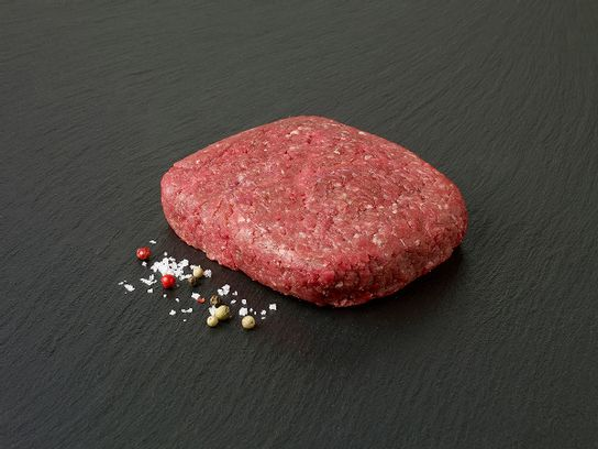 Bifteck haché de bœuf