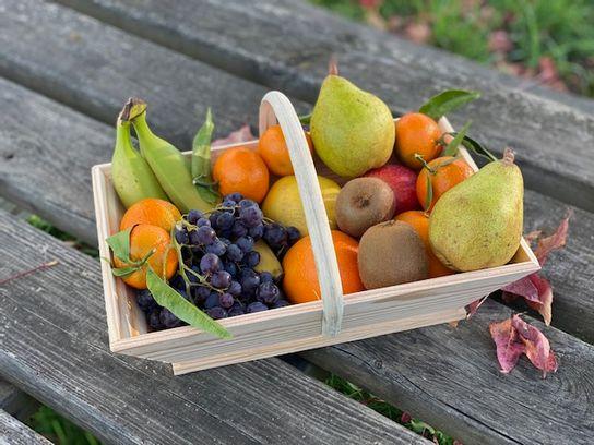Panier de fruits de saison
