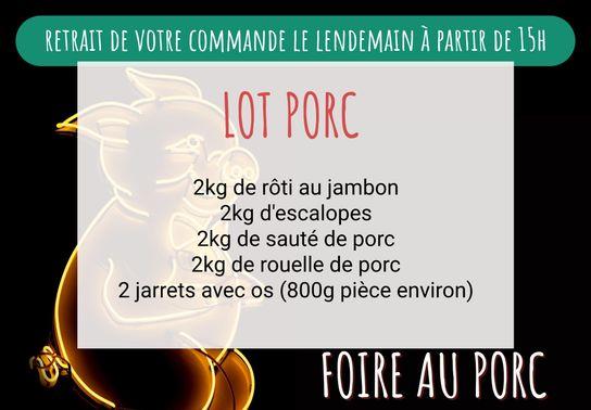 Lot Porc
