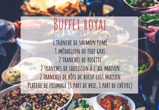Buffet royal