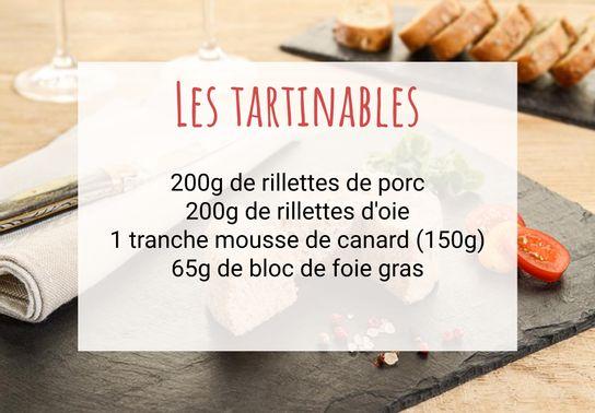 Les tartinables
