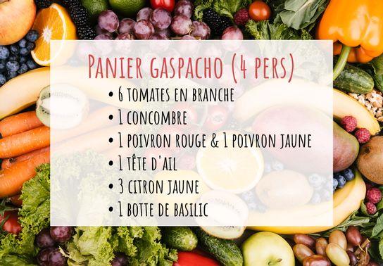 Panier Gaspacho Traditionnel