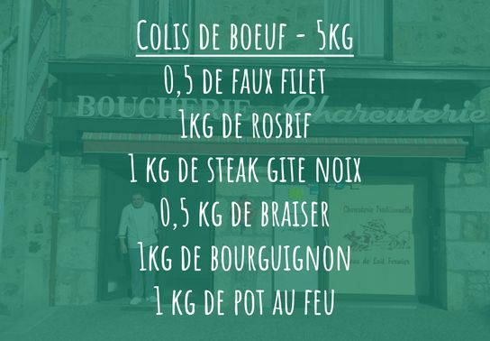 Colis de Bœuf - 5kg