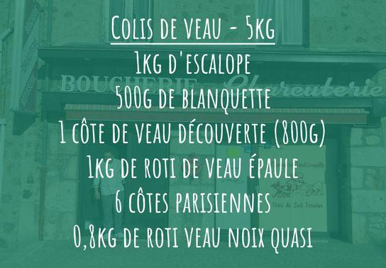 Colis de Veau - 5kg