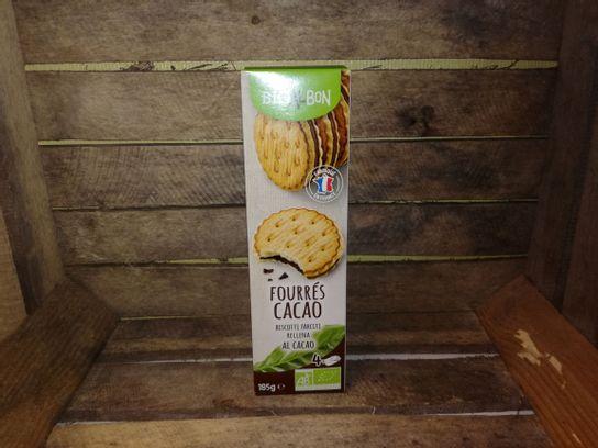 Biscuits fourrés BIO cacao