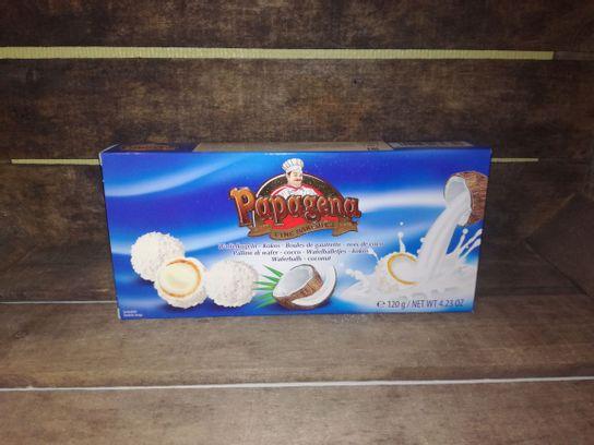 Boules de gaufrette noix de coco