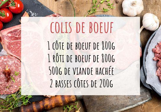 Le colis de Boeuf