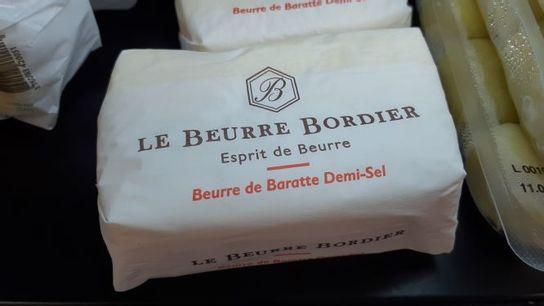 Beurre baratte Bordier 1/2 sel 250g