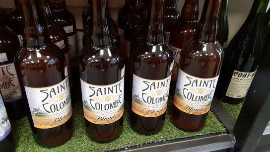 Bière Sainte colombe Blonde - 75 cl - Artisanale Bretonne