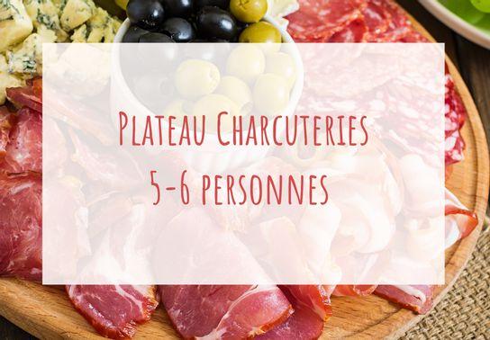 Plateau charcuteries 5-6 personnes