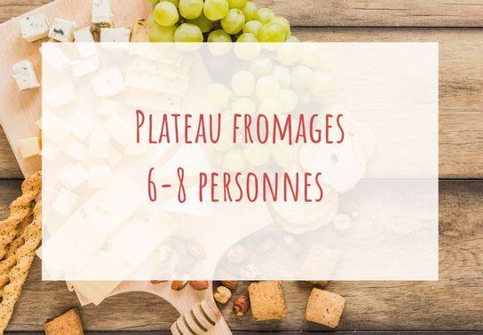 Plateau de fromages 6-8 personnes