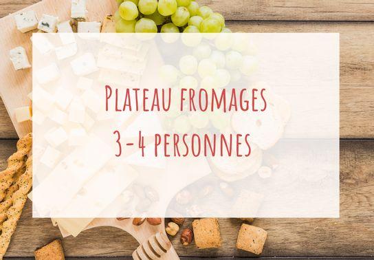 Plateau de fromages 3-4 personnes