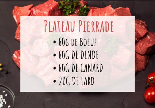 Plateau pierrade
