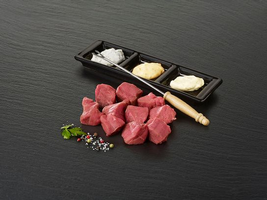 """Viande à fondue de bœuf """"Poire"""""""