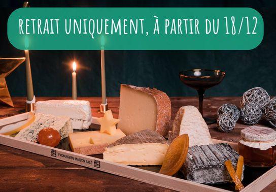 Plateau « Nuit de Folie! » 12-14 pers - uniquement en retrait