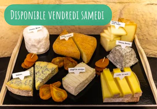 Plateau Sélection de fromages affinés du moment (8 pers)
