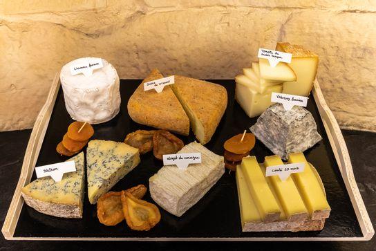 Sélection de fromages affinés du moment (8 personnes)