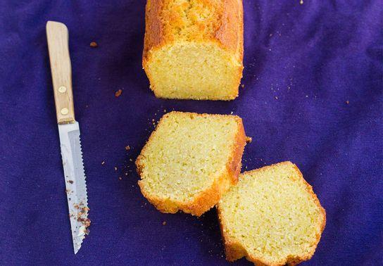 Cake au citron - la parts