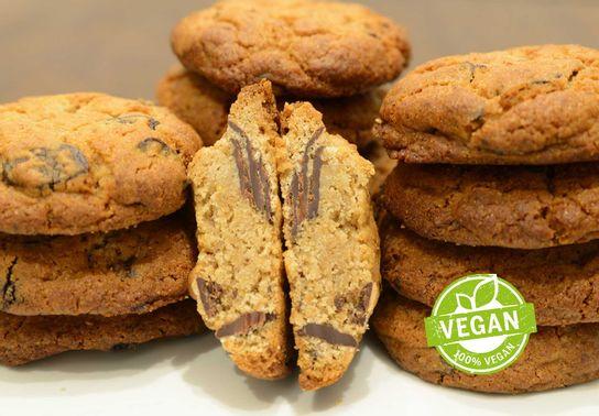 Cookie Chocolat-Sésame, vegan