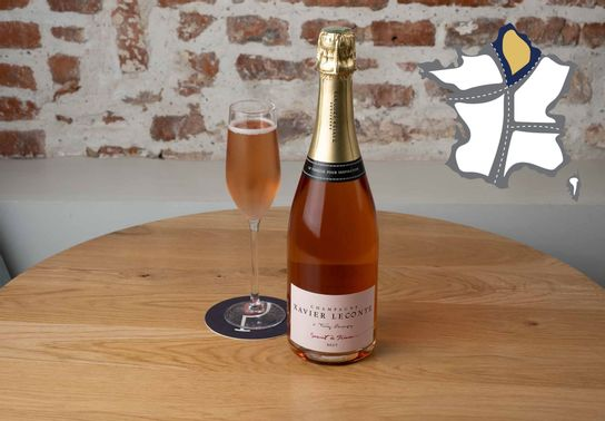 Champagne Rosé - Xavier Leconte