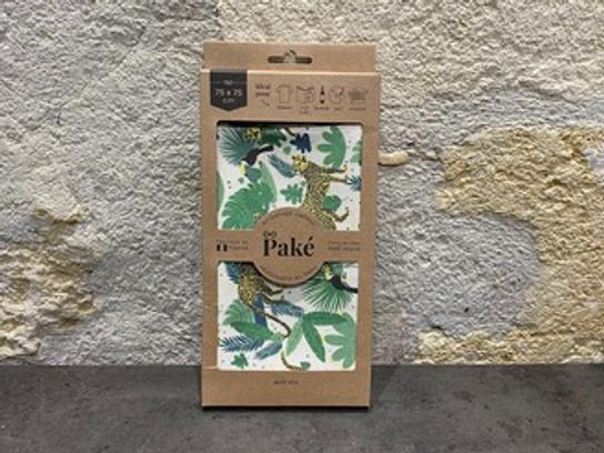 Emballage cadeau réutilisable 75x75 PAKÉ