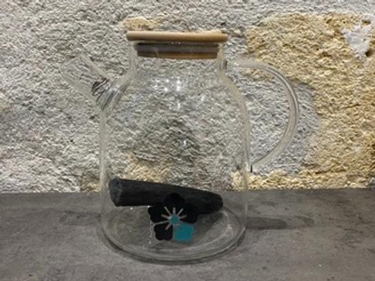 Carafe 1,8L + binchotan Kyuké