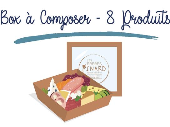 Box à Composer - 8 PRODUITS