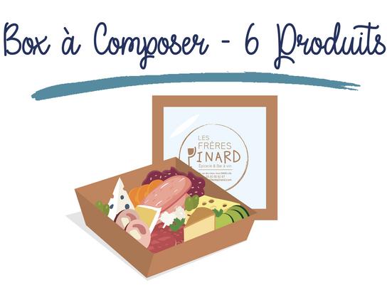 Box à Composer - 6 PRODUITS