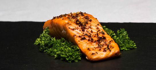 Pavé de saumon aux épices douces