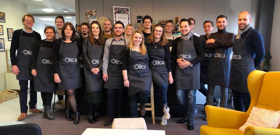 Photo équipe Ollca